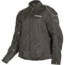 FLY Racing Coolpro 2 Mesh Womens Textile Street Jacket Black