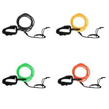 6ft Surfing Surfboard Leash Leg Rope with Neoprene Ankle Cuff & Swivel Joints