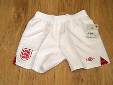 ENGLAND HOME SHORTS 2012-13 BOYS BRAND NEW TAGGED