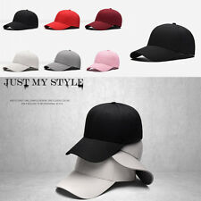 Unisex Fashion Blank Plain Snapback Hats Hip-Hop adjustable boy Baseball Cap