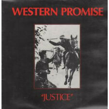 "WESTERN PROMISE Justice 12"" VINYL UK Midnight 1985 4 Track Featuring Promised"