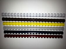 16mm Binding Combs *SPECIAL PURCHASE* Retro Colours, Various quantities