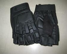 SWAT Military Airsoft Paintball Tactical Gloves Gear Half Finger Armed Protect ~