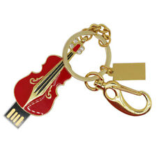 Violin USB Flash Drive U Stick Pen Drives 4-64GB Capacity Memory for Laptop
