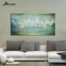 Original Picture Abstract Oil Painting Hand-painted Canvas Wall Art 24x48-inch