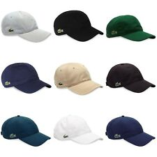 Lacoste Cap - Lacoste Cotton and Poly Cap - RK2447 - RK9811 - Black, Navy - BNWT