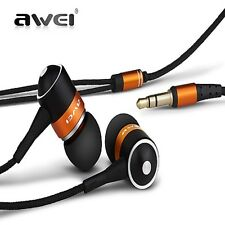 Awei ES-Q3 In-Ear Earphone Stereo Headphones Earbuds Super Bass Headset Fone