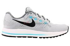 Nike Men Air Zoom Vomero 12 Running Shoes Wolf Grey/Black/Chlorine Blue All size