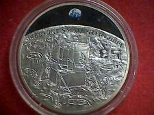 2009 Guernsey Silver Proof 40th Anniversary Moon Landing 1 Of 450 Made