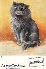 """Second Prize Cat Show At The Cat Show With Louis Wain Print, Cat Art 4x6""""-16x24"""""""