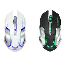 2400 DPI 7 Colors LED Backlit 2.4GHz Wireless Optical Gaming Mouse Mice