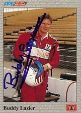 Buddy Lazier 1991 All World Indy Signed Card Auto