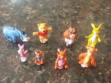 Vintage Polly Pocket 8 Figures from  Winnie The Pooh 100 acre wood playset 1998