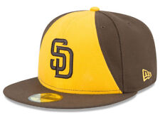 New Era San Diego Padres 2017 ALT 2 59Fifty Fitted Hat (Brown/Gold) MLB Cap