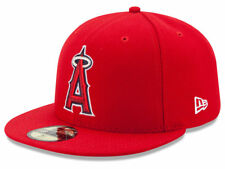 New Era Los Angeles Anaheim Angels 2017 GAME 59Fifty Fitted Hat (Red) MLB Cap