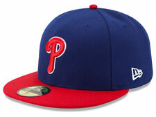 New Era Philadelphia Phillies 2017 ALT 59Fifty Fitted Hat (Royal/Red) MLB Cap