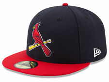 New Era St. Louis Cardinals 2017 ALT 2 59Fifty Fitted Hat (Navy/Red) MLB Cap