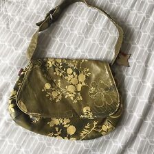 Liberty Kimchi Vintage Leather Bag Floral Butterfly