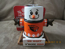 OREGON STATE COLLEGE S'MORE ORNAMENT / NEW WITH TAGS