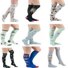 Official K. Bell ® Womens Knee High Graphic Unique Design Print Variety Socks