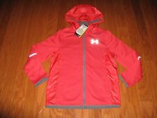 Under Armour® Logo Full Zip-Up Hoodie Jacket Boys Size YMD NWT $99.99