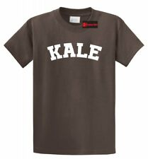 Kale T Shirt Funny University Spoof Food Vegan Vegetarian Health Tee Shirt