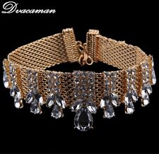 NEW Choker Necklace Women Maxi Short Necklace Wedding Party Statement Jewelry
