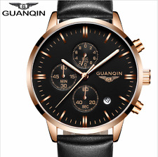 new guanqin military sport quartz chronograph luminous hands male watch fashion