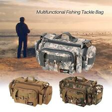 Multifunctional Fishing Tackle Bag Reel Waist Bait Box Boat Pouch Case Storage