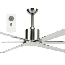 "NEW Brilliant Lighting Maelstrom 84"" Industrial Style DC Ceiling Fan & Remote Co"