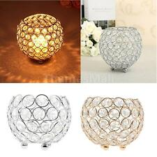 Crystal Bling Votive Tealight Candle Holder Wedding Anniversary Decor 10/12/15cm