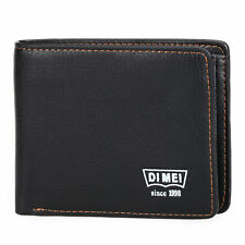 Men's Leather Credit Card ID Holder Slim Wallet Cash Coin Bifold Clutch Purse