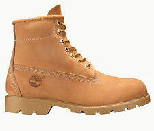 Timberland 10066 6 Inch Basic Mens Wheat Nubuck Leather Waterproof Boots