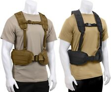 Tactical MOLLE Padded Law Enforcement Police Battle Belt & Load Bearing Harness