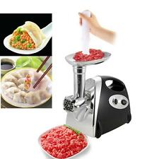 Stainless Steel 2800W Electric Meat Grinder Mincer Sausage Maker Stuffer P7Q4