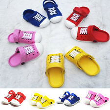 Casual Kids Boy Girl Sandals Beach Slippers Unisex Breathable Slip-On Shoes Gift