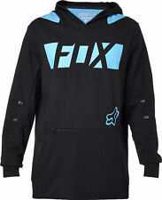 Fox Racing Mens Black Flexair Libra Pullover Hoody Hoodie Hooded Sweater Casuals