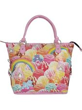 Iron Fist Care Bears Scoops A Lot Pink Tote Handbag