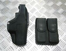 Genuine Bianchi MoD Military / Police Accumold Thumbsnap Holster & Ammo Pouch