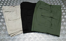 US Military Style 100% Cotton Ripstop 6 Pockets Combat Shorts - NEW
