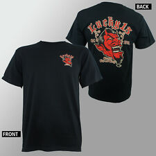 Authentic LUCKY 13 Devil Grease Gas And Glory Rockabilly T-Shirt S-4XL NEW