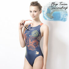 Girls and Womens Marium Competition, Swimming Racing Practice One-Piece Swimsuit