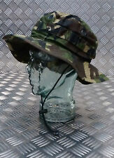 Genuine British Army Tropical DPM Woodland Camo Boonie / Bush Hat Special Forces
