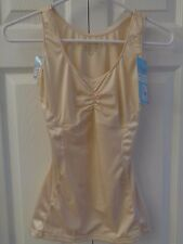 NWT Assets by SPANX Shining Slimmers Firm Shaper Sweetheart Cami Tank Top Nude