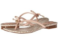 NEW KATE SPADE Mistic Pale Pink Nappa Leather Sandals Sizes 8,8.5,9