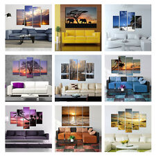 Modern Wall Art Set Painting Print on Canvas Landscape Picture for Home Decor