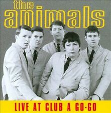 Live at the Club a Go-Go by The Animals (CD, Oct-1997,   UK import