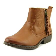 B.O.C Kids by Born Nylin Youth  Round Toe Synthetic Tan Ankle Boot