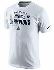 NIKE Seattle Seahawks Super Bowl Conference Champions Trophy Locker Room Shirt