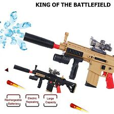 Assault Rifle Toy Soft Crystal Bullets Water Pistol Electric Repeating Weapon